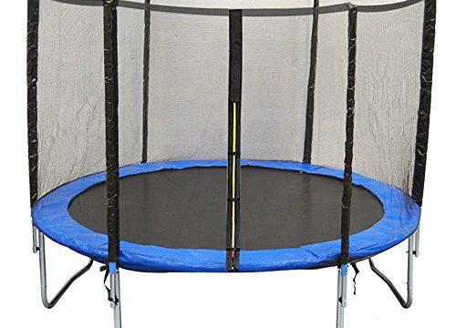 Greenbay Premium Ersatz-Sicherheitsnetz nur Netz, Stangen Nicht im Lieferumfang enthalten, 4 mm x 4 mm UV-beständig für 427 cm 8 Stangen Trampolin