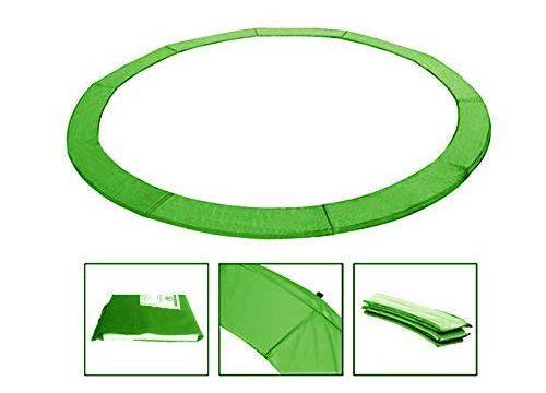 Andreas Dell Randabdeckung Federabdeckung Randschutz Schutz für Trampolin von 244 bis 460 cm HellGrün, 244