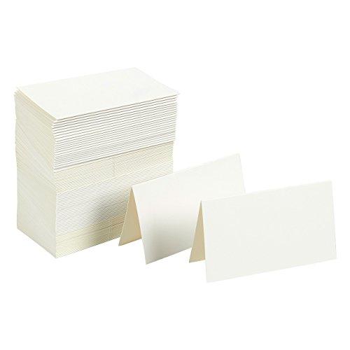 Top 9 Tischkarten weiß Gold – Kartenkartons