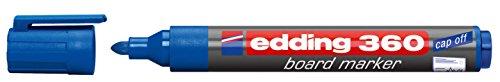 Top 8 whiteboard marker blau Edding – Präsentationszubehör