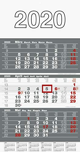 Top 8 3 Monatskalender 2020 Wand – Kalender