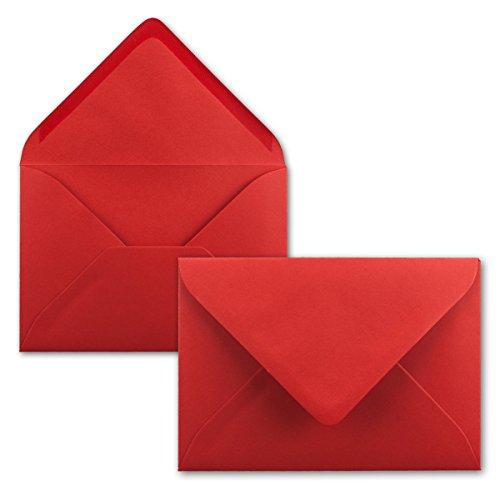 Top 9 Briefumschläge Rot C6 – Umschläge für Grußkarten & Einladungen