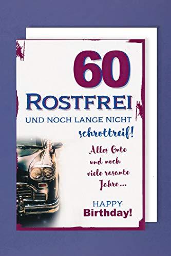 Top 10 Karten zum Geburtstag 60 – Grußkarten