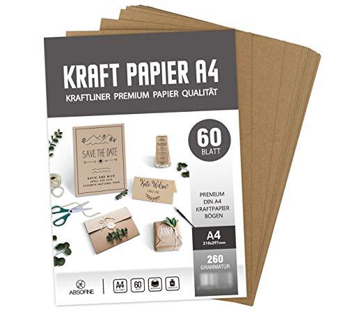 Top 10 Kraftpapier DIN A4 – Kartenkartons