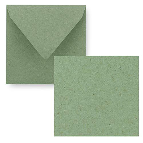 Top 10 Kraftpapier Karten quadratisch 15×15 – Grußkarten