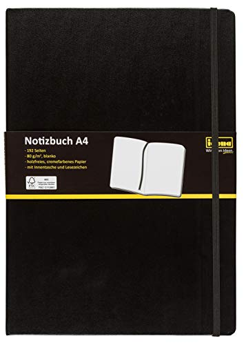 Top 6 Kladde A4 blanko – Tagebücher
