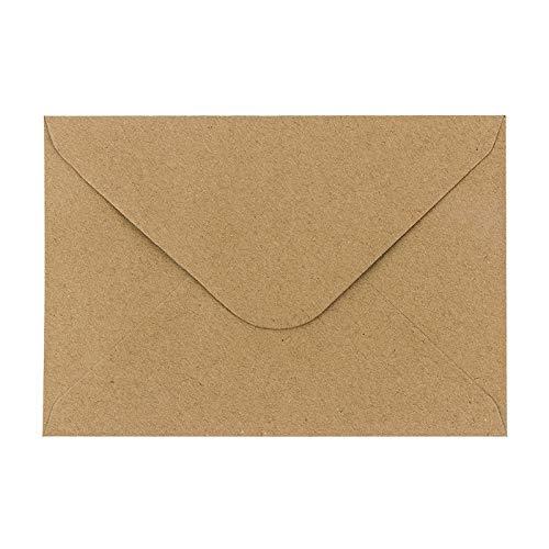 Top 10 Briefumschlag Kraftpapier C6 – Umschläge für Grußkarten & Einladungen