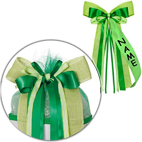 Top 10 Geschenkband grün breit – Schultüten