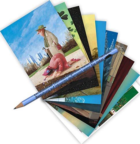 Top 9 Gerhard Glück – Postkarten