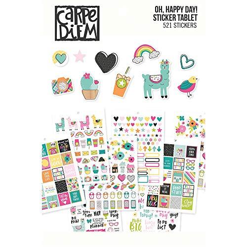 Top 7 Carpe Diem Sticker – Papierschöpf-Zubehör