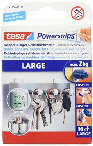 Top 7 Tesa Powerstrips Large 2kg – Doppelseitige Klebebänder