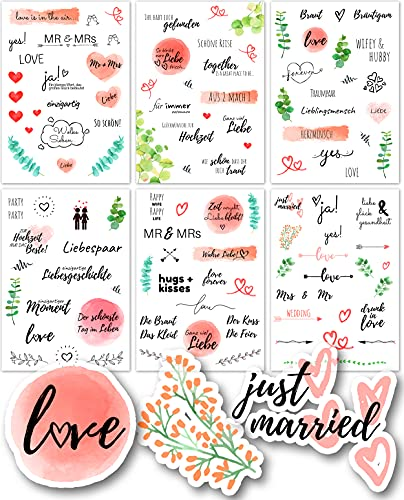 Top 10 Bride Zubehör – Scrapbooking-Sticker