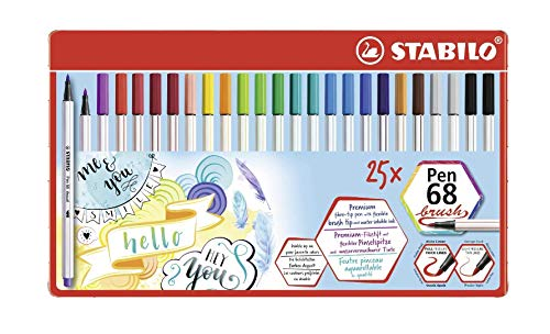 Top 9 STABILO brush Pen – Fineliner