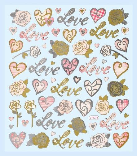 Top 10 Liebe Sticker Set – Scrapbooking