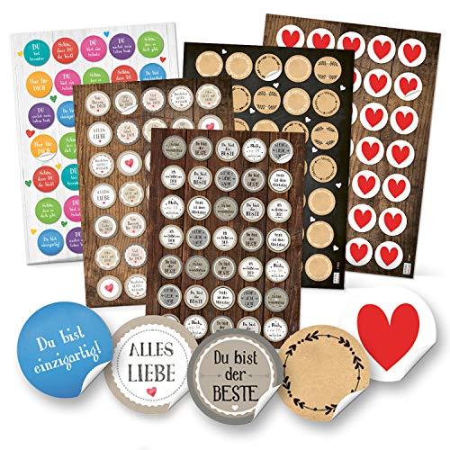 Top 8 Sprüche über Liebe – Dekorative Sticker