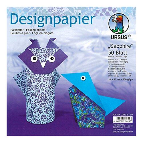 Top 10 Papier Türkis Gemustert – Origami-Papier