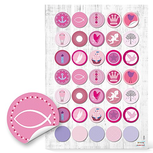 Top 10 Tischdeko pink Kommunion – Scrapbooking-Sticker